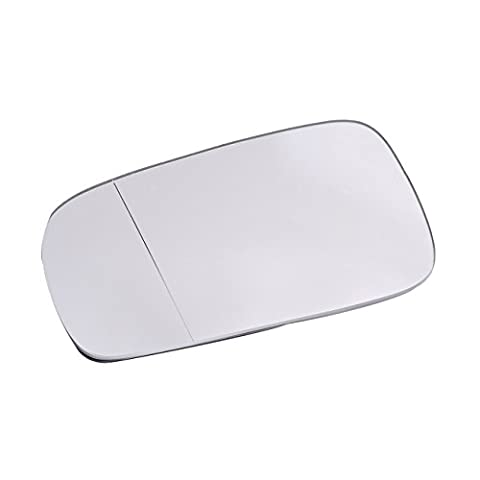 WANOOS Left Side Wing Mirror Glass Replacement for 1999-2004 VW Jetta Golf Passat MK4