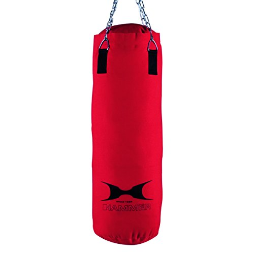 HAMMER Boxsack Home-Fit Fit, rot, 28x60 cm