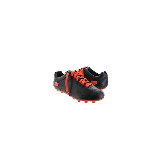 Milemil, Herren Fußballschuhe schwarz und orange