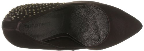Paco Mena Gray, Damen Pumps Braun (Brown)