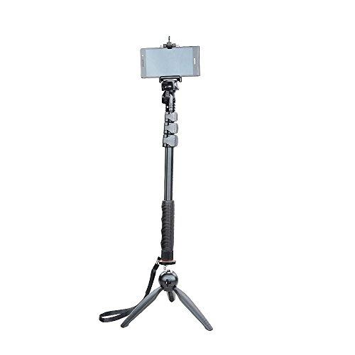 YUN Teng c-088Selfie Stick Einbeinstativ Stativ + yt-228Mini Stativ für Handy Compact Kamera