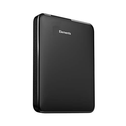 LSJZS Elements Tragbare Externe Festplatte 2,5 USB 3.0 Festplattenlaufwerk 500 GB 1 TB 2 TB 3 TB 4 TB Original für PC Laptop,3TB