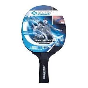 Donic-Schildkröt Tischtennisschläger Sensation Line 700, ASG-Griff, 1,8 mm Schwamm, Avantgarde – ITTF Belag, 734403