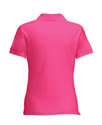 Fruit of the Loom Lady-Fit Poloshirt 63-560-0 Fuchsia