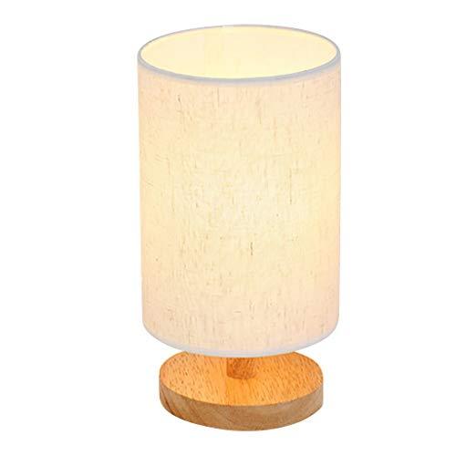 Dtuta Nordic Schlafzimmer Nachttisch Massivholz Dimmable Led Kreative Kleine Tischlampe Dekorative Beleuchtung Hause Lampe
