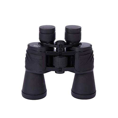 HJBH Teleskop Fingerprint Fernglas 20X50 High-Definition Outdoor Low Light Nachtsicht wasserdicht Anti-Fog - Schwarz
