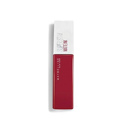Maybelline New-York - Rouge à Lèvres Mat Liquide - Longue Tenue - Superstay Matte Ink - Teinte : Pionner (20), 5 ml