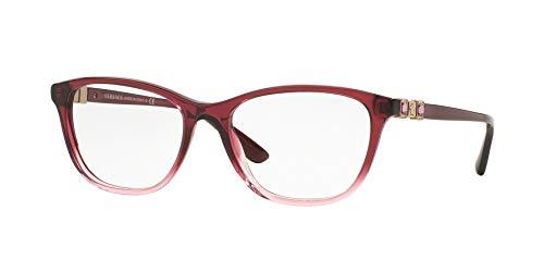 Versace Für Frau 3213b Black Kunststoffgestell Brillen, 54mm