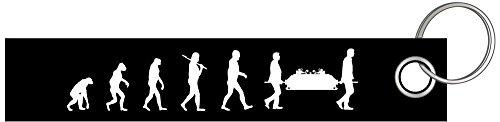 Shirtzshop BESTATTER EVOLUTION Bestattung Beerdigung Schlüsselanhänger Schlüsselband Keyholder Lanyard
