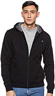 Lacoste Men's Tennis hooded zippered sweatshirt in fleece Sweats