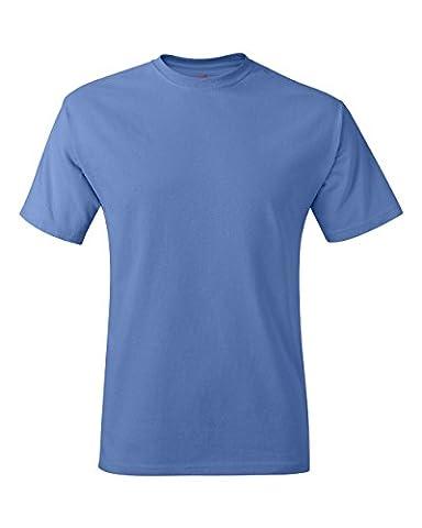 Hanes tagless t-shirt bleu Bleu (Azul