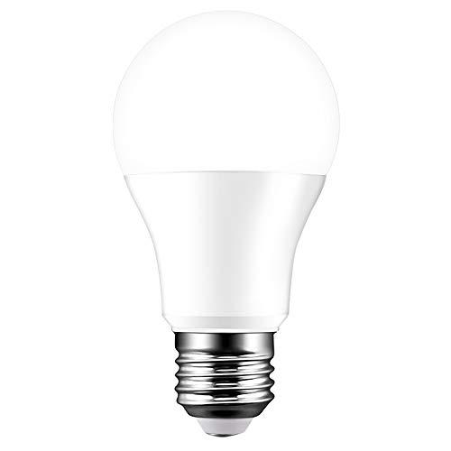 Lampadina LED Wifi, Lampadina LED E27 dimmerabile bianco 15W 5700K, 100 equivalenti, compatibile con Alexa, Google Assistant, Telecomando tramite smartphone, Nessun hub richiesto