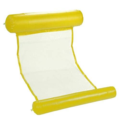 arer Pool schwimmende Wasser-Hängematte Float Lounger Schwimmbett Stuhl Schwimmbad Aufblasbare Hängematte Bett Pool Party Spielzeug ()
