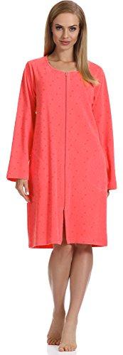 Merry Style Robe de Chambre Femme MS559 (Corail, M)