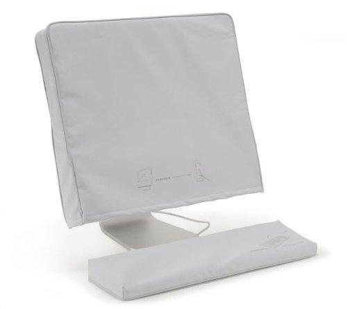 Tucano Cappuccio Schutzhaubenset für iMac G5 & Intel 43,2 cm (17 Zoll) (Display & Tastatur), weiß (Imac G5-tastatur)