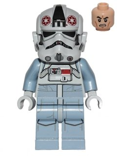 Lego Star Wars Minifigur AT-AT Driver aus 75054 (sw581)