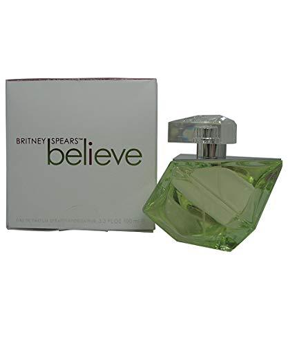 Britney Spears Believe Eau De Parfum Spray (Britney Spears Believe EDP Spray 100 ml, 1er Pack (1 x 100 ml))