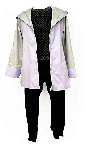 Chong Seng CHIUS Cosplay Costume Outfit for Hidden Leaf Village Shinobi Hyuga Hinata Ver 3 (Hinata Cosplay Uk)