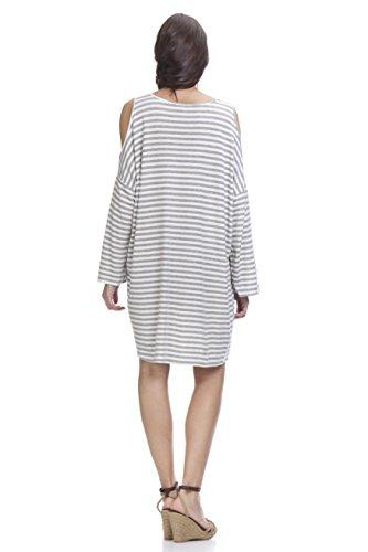 Tantra Damen Kleid, Casual Dress3021 Grau