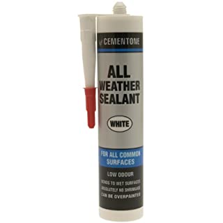 Cementone 515420 290ml All Weather Sealant - White