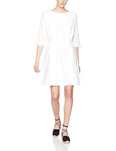 s.Oliver 14704826434, Robe Femme white 0100