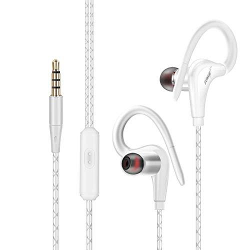 Fonge S760 Sport-Headset für Samsung-Mobiltelefon, wasserfest, schweißfest weiß