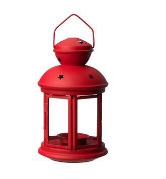 Lampe à chandelier à six couleurs en feutre, bougies éclairées par pare-brise, lanterne extérieure à vent de jardin, bougie à chandelier