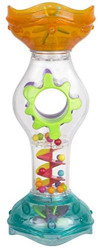 Playgro Badespielzeug Regenmacher, Baby Spielzeug beim Baden, Ab 6 Monate, BPA-frei, Bunt, 40216