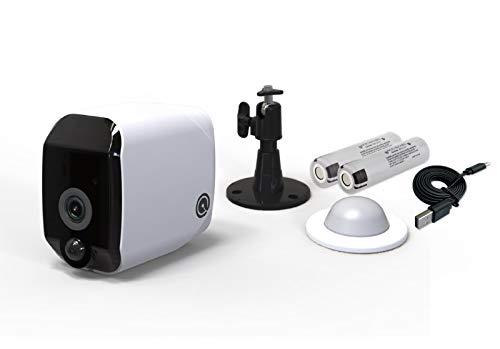 Telecamera di Sicurezza Wifi HD 1080p Senza Fili Sensore di Movimento Alimentata Batterie Ricaricabili Impermeabile IP65 Dadvu DV JYBS909