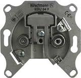 Hirschmann EDU04F Antennendose BK-/SAT Stichdose 2-fach