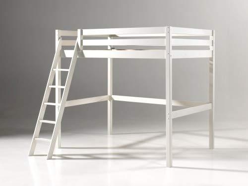 Hochbett Holz Weiß 140x200 : Bett weiß günstig bester verkauf matratze größe beste