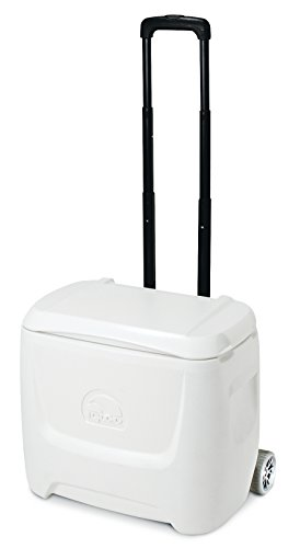 Igloo Coolers Marine Breeze Ultra Roller Nevera Portátil, Blanco, 26 l