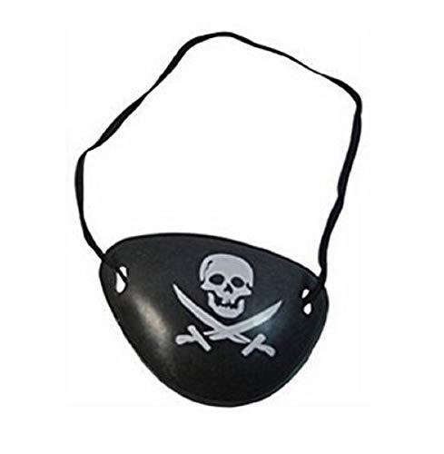 te Augenklappe Zubehör - Pirat - Erwachsene - Kinder - Karneval - Halloween ()