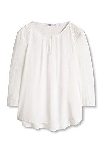 edc by Esprit Camicia Donna Bianco (OFF WHITE 110)
