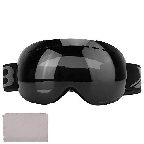 Furnoor Schutzbrille Dual Lens Brille Anti Fog UV Erwachsene Ski Schnee Snowboard Schutzbrille Brillen(1)
