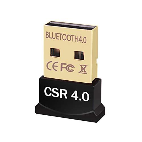 Goldyqin CSR Adapter 4.0 USB 4.0 Adapter Audio Receiver Unterstützung für Win8 / 10 - Schwarz
