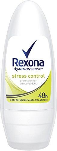 Rexona Deo Roll-On Stress Control Anti-Transpirant, 6er Pack (6 x 50 ml)