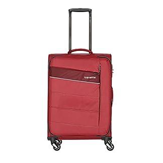Travelite Kite – Maleta con 4 Ruedas (64 cm, expandible), Rojo 89948-10