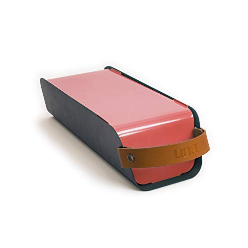 UNA Barbacoa de carbón portátil para Exteriores, Color Rojo Fresa