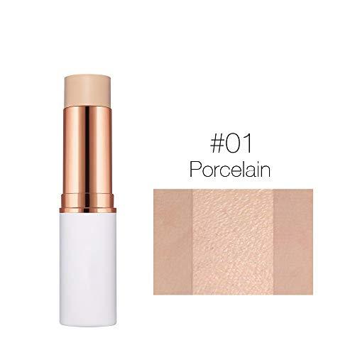 Correcteur Bâton, ROMANTIC BEAR Correcteur Makeup Stick Maquillage Visage Concealer Pen Infaillible Durable Pores Invisibles Contrôle De l'Huile (porcelaine)