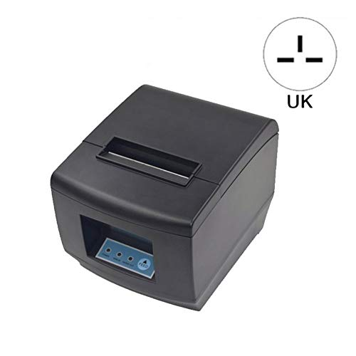 POS-8350 80MM POS Ticket Thermal Printer with USB Network Port Serial Port with Automatic Cutter for Retail POS Catering Industrial Control Systems
