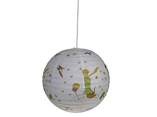 Pendelleuchte Papierballon Der kleine Prinz Ø 40 cm, inkl. Lampenschirmaufhängung + Leuchtmittel