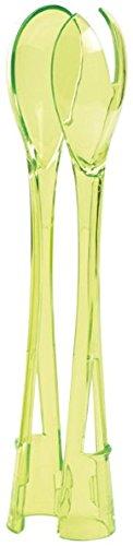 Mastrad F06118 Couverts à Salade Plastique Vert 29 x 4 x 29 cm