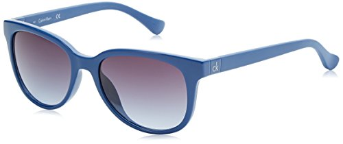 Calvin Klein Wayfarer Eye, Montures de Lunettes Femme, Bleu (Blue), 54.0