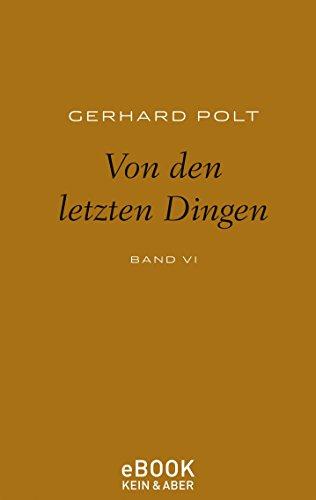 Von den letzten Dingen (German Edition)