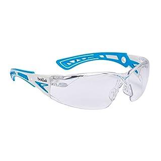 Bollé Brille borushpspsiplus Rush + Platinum Blue Clear Sicherheit