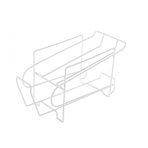 veklblan Double-Layer-Kühlschrank Kann Storage Rack-Küche-Bier Cola-Organisator-Halter Startseite Space Saver-Tool -