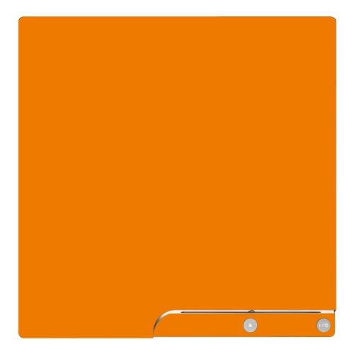 Disagu Design Skin für Sony PS3 Slim + Controller - Motiv Orange (Ps3 Controller Skins-orange)