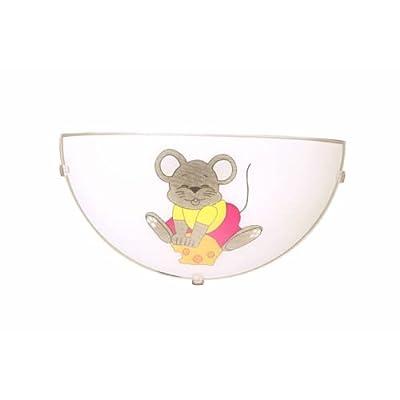 Mouse Wandleuchte Kinderzimmerleuchte 15 X 30cm von Spot-Light