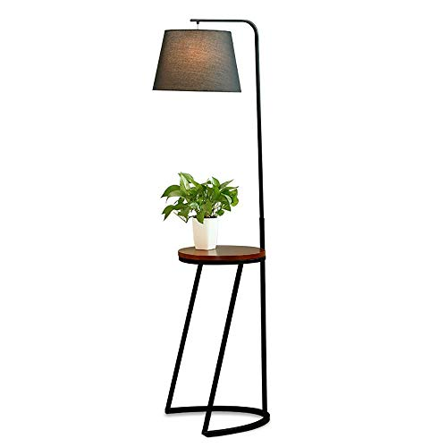 CWJ Wohnzimmer, Hotel, Schlafzimmer, Stehlampe-Massivholz + Schmiedeeisen Sofa Stehlampe Topf Ra -